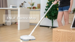 $99 with coupon for ENLiF Dry / Wet / Wax Cordless Handheld Intelligent Electric Mop from GearBest