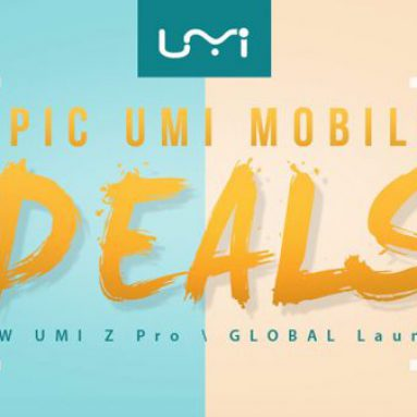 EPIC UMI MOBILE DEALS - DO 50% OFF @ GEARBEST