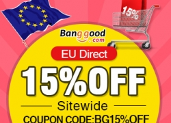 15% OFF for All Products in EU Warehouse! from BANGGOOD TECHNOLOGY CO., LIMITED
