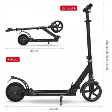 99 € s kupónem na EYU Electric Scooter E9 Smart E-Scooter ze skladu EU GSHOPPER