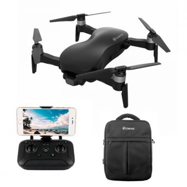 €168 with coupon for Eachine EX4 5G WIFI 1.2KM FPV GPS With 4K HD Camera 3-Axis Stable Gimbal 25 Mins Flight Time RC Drone Quadcopter RTF – Black With Storage Bag Two Batteries from BANGGOOD