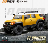 €140 with coupon for Eachine & FMS for TOYOTA FJ Crusier RTR 1/18 2.4G 4WD RC Car Crawler Vehicles Off-Road Truck Toys from BANGGOOD