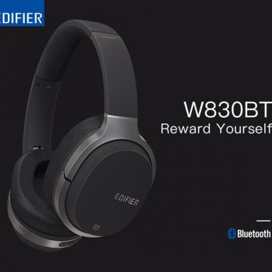 Editör W70BT bluetooth 830 için kupon ile Mic 4.1 Kablosuz HIFI Gürültü İzolasyonu Kulaklık Mic Desteği Ile NFC AUX - BANGGOOD Siyah