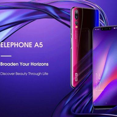 Elephone için kupon ile $ 189 A5 4G Phablet Avrupa Birliği - TWILIGHT AVRUPA BİRLİĞİ - GearBest AB depo