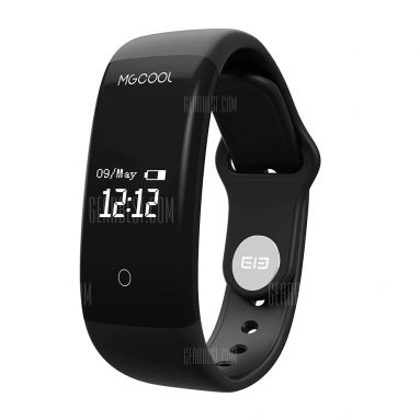 $13 with coupon for Elephone ELE MGCOOL Band 2 Heart Rate Monitor Smartband  –  BLACK from Gearbest