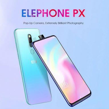 Ang 126 na may kupon para sa Elephone PX 4G Phablet 6.53 pulgada Android 9.0 MT6763 Octa Core 4GB RAM 64GB ROM 2 Rear Camera 3300mAh Battery Global Bersyon - Crystal Cream mula sa GEARBEST