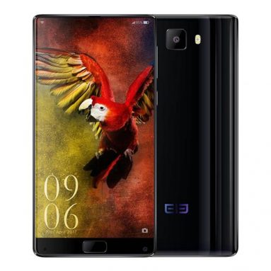 Elephone S8 4+64GB Black on sale! from Geekbuying.com INT