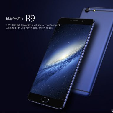 Elephone R9 Design, hardware, fotoaparát, recenze baterií