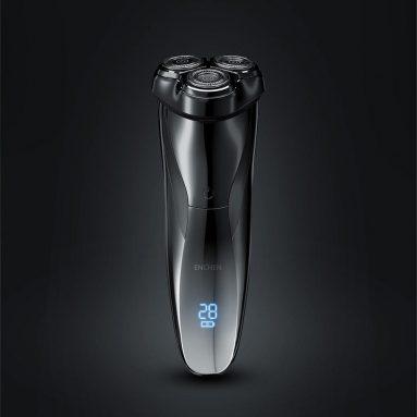 € 15 Enchen için kuponlu BlackStone3 Pro Elektrikli Tıraş Makinesi 3D Yüzen Kesici LED Akü Ekranı Engelleme Koruması USB Şarj Tıraş Makinesi erkek hediyesi için Xiaomi Youpin'den BANGGOOD'dan