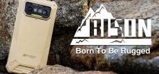 89 € z kuponem na F150 Bison 2021 5.86 cala HD + IP68 i IP69K Wodoodporny NFC 8000mAh Android 10 6GB 64GB Helio G25 13MP Quad Rear Camera 4G Smartphone - czarna wersja globalna od BANGGOOD