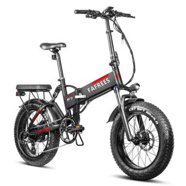 1330 € s kuponom za FAFREES F7 Plus 750W 4.0 masna guma 45 KMPH Sklopivi električni bicikl iz EU skladišta GEARBEST