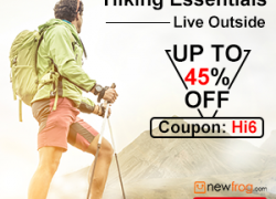 Hiking Essentials, Live Outside-Up To 45% Off from Newfrog.com