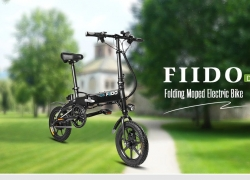 €426 with coupon for FIIDO D1 Folding Electric Bike Moped Bicycle E-bike – BLACK 10.4AH BATTERY EU warehouse from GearBest