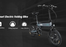 $499 with coupon for FIIDO D2 Folding Moped Electric Bike E-bike – GRAY EU warehouse from GearBest