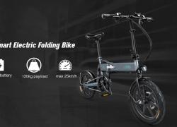 $ 519 s kupónom pre FIIDO D2 Skladacie Moped Elektrické Bike E-bike - GREY EU sklad od GearBest