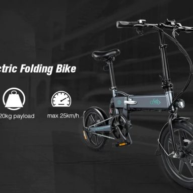 € 429 dengan kupon untuk FIIDO D2 Folding Electric Moped Bike EU Warehouse Gray dari GEEKBUYING