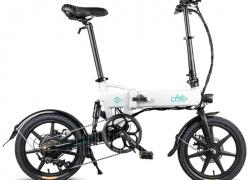 € 402 dengan kupon untuk FIIDO D2 Folding Moped Electric Bike E-bike - Crystal Cream EU warehouse dari GEARBEST