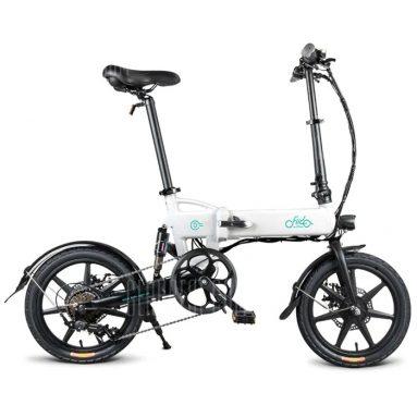 € 402 với phiếu giảm giá cho FIIDO D2 Folding Moped Electric Bike E-bike - Crystal Cream EU kho từ GEARBEST