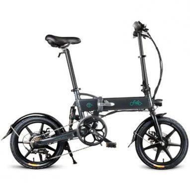 € 445 με κουπόνι για FIIDO D2 Μετατόπιση Έκδοση 36V 7.8Ah 250W 16 ίντσες Πτυσσόμενο μοτοποδήλατο Ποδήλατο Ηλεκτρικό Ποδήλατο EU UK WAREHOUSE από BANGGOOD