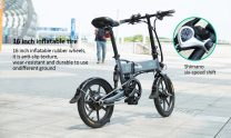€425 with coupon for FIIDO D2s Shifting Version Variable speed Folding Moped Electric Bike 7.8Ah 16in Wheel  – Dark Gray EU Poland warehouse from GEARBEST