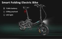 $ 499 dengan kupon untuk FIIDO D3 Mini Aluminium Alloy Cerdas Lipat Sepeda Listrik HITAM UNI EROPA gudang dari GearBest