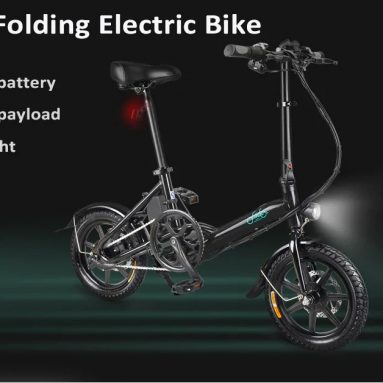 $499 with coupon for FIIDO D3 Mini Aluminum Alloy Smart Folding Electric Bike from GearBest