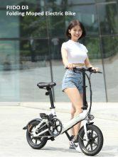 € 383 με κουπόνι για FIIDO D3 Μετατόπιση Έκδοση 36V 7.8Ah 300W 16 Inches Πτυσσόμενο ποδήλατο μοτοποδηλάτου 25km / h Μέγιστο 60KM Χιλιόμετρα Ηλεκτρικό ποδήλατο - Μαύρο από BANGGOOD