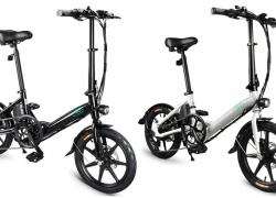 $ FINO D489 के लिए कूपन के साथ $ 3 तह इलेक्ट्रिक बाइक मोपेड साइकिल वैरिएबल स्पीड शिफ्टिंग संस्करण 16in व्हील ब्लैक EU गोदाम से GEARBEST