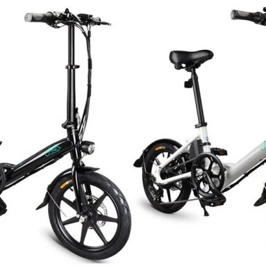 €506 with coupon for FIIDO D3S Shifting Version 36V 7.8Ah 250W 16 Inches Folding Moped Bicycle 25km/h Max 60KM Mileage Electric Bike from EU CZ warehouse BANGGOOD