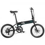 538 € z kuponem na FIIDO D4s 10.4Ah 36V 250W 20-calowy składany rower motorowerowy 25 km / h Maksymalna prędkość 80KM Zakres przebiegu Rower elektryczny UE CZ MAGAZYN od BANGGOOD