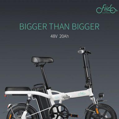 $ 669 dengan kupon untuk Fiido L2 Versi Unggulan 48V 350W 20Ah Lipat Sepeda Moped Listrik 14 inci 25km / h Kecepatan Tinggi 3 Gear Power Boost Sepeda Listrik - Oranye dari BANGGOOD