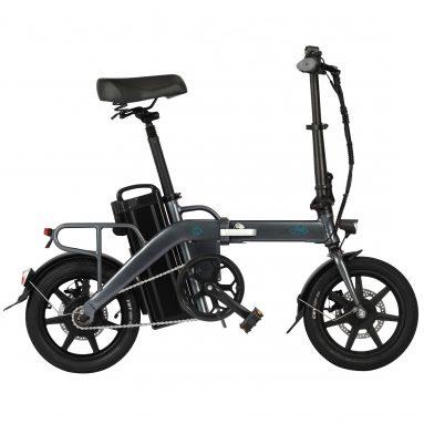 € 694 쿠폰 포함 FIIDO L3 플래그십 버전 48V 350W 14.5Ah / 23.2Ah 접이식 전기 오토바이 자전거 14 인치 25km / h 최고 속도 3 기어 파워 부스트 EU CZ 창고에서 전기 자전거 전기 자전거 BANGGOOD