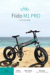 € 925 FIIDO M1 Pro 12.8Ah 48V 500W के लिए कूपन के साथ 20 इंच तह मोपेड साइकिल 40 किमी / घंटा टॉप स्पीड 130KM माइलेज रेंज इलेक्ट्रिक बाइक ईयू यूके के गोदाम BANGGOOD से