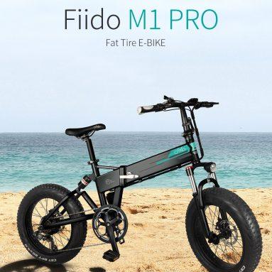 """€ 925 עם קופון ל- FIIDO M1 Pro 12.8Ah 48V 500W 20 אינץ 'אופני טוסטוס מתקפלים 40 קמ""""ש מהירות עליונה 130KM טווח קילומטראז' אופניים חשמליים ממחסן האיחוד האירופי בבנגונג"""