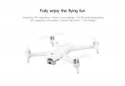 € 198 con cupón para FIMI A3 5.8G 1KM FPV con 2 eje Drone RC Drone de Xiaomi Youpin de GearBest