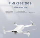 €401 with coupon for FIMI X8 SE 2022 2.4GHz 10KM FPV With 3-axis Gimbal 4K Camera HDR Video GPS 35mins Flight Time RC Quadcopter RTF from BANGGOOD