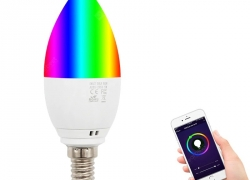 €11 with coupon for FK – A09 E14 5W Smart Candle Bulb for Home from GearBest