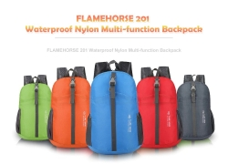 $6 with coupon for FLAMEHORSE 201 Waterproof Nylon Multi-function Backpack from Gearbest