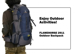 $28 with coupon for FLAMEHORSE 2911 Wind Wing Shoulder Bag – DARK SLATE BLUE from GearBest