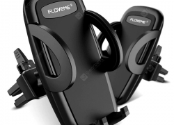 $5 with coupon for FLOVEME Air Vent Mount Flexible Car Holder – Black from GEARBEST
