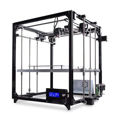 $209 with coupon for FLSUN FL – C Cube Simply Equipped Frame 3D Printer Kit  –  EU PLUG  BLACK from GearBest