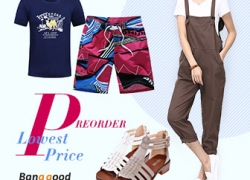 Pre-Order for Fashion Stuff with the Lowest Price from BANGGOOD TECHNOLOGY CO., LIMITED