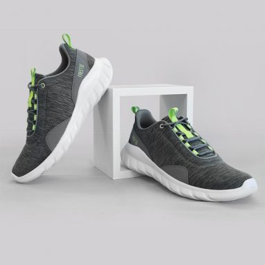 €21 with coupon for FREETIE Men Sneakers Ultralight Breathable Soft Sport Running Shoes Grey Green Warmth Thicken Winter Shoes From Xiaomi Youpin from BANGGOOD