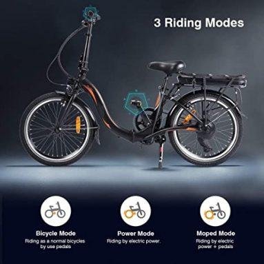 Fafrees 709F20 쿠폰 포함 € 039 20AH 배터리 포함 10 인치 접이식 전기 자전거 50 – 55km 범위 EU 독일 창고 TOMTOP