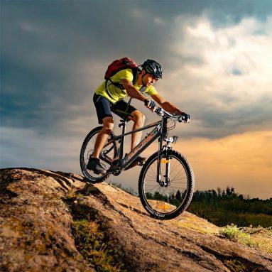 €848 FAFREES kuponu ile KRE27.5 10Ah 48V 250W Katlanır Moped Elektrikli Bisiklet 27.5 inç 25Km/s En Yüksek Hız 80-100km Kilometre Aralığı Maksimum Yük AB CZ deposundan 120kg BANGGOOD