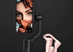 € 67 với phiếu giảm giá cho Feiyu Tech VLOG Pocket 3 có thể gập lại ổn định trục cầm tay ổn định cho điện thoại Các nhà làm phim từ BANGGOOD