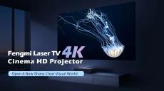 1528 z kuponem na [Nowa wersja] Kinowy projektor kinematograficzny Fengmi 4K 2500 Lumenów 150 cal ALPD 4K 3D BT 4.0 MIUI TV Projektor Xiaomi od BANGGOOD