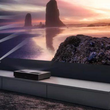 € 1899 với phiếu giảm giá cho Máy chiếu Laser Xiaomi Fengmi 4K 150 Inch ALPD Nguồn sáng 4K 3D 2GB + 64GB BT 4.0 MIUI Máy chiếu từ BANGGOOD