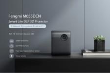 € 426 met kortingsbon voor Xiaomi Ecosystem Fengmi Smart Lite DLP 3D-projector 550Ansi Lumens 1080P Ondersteuning 4K Android 2 + 16 GB vierzijdige trapeziumcorrectie Smart Home Theatre-projector van BANGGOOD