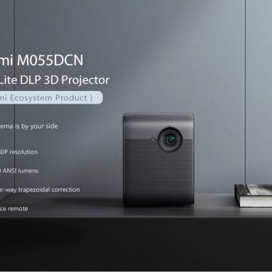 €394 with coupon for Xiaomi Ecosystem Fengmi Smart Lite DLP 3D Projector 550Ansi Lumens 1080P Support 4K Android 2 + 16GB Four-way Trapezoidal Correction Smart Home Theater Projector from EU CZ ES warehouse BANGGOOD